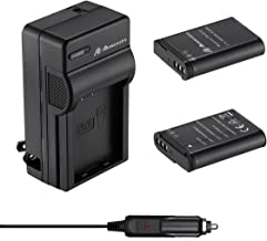 Powerextra 2 x 2600mAh EN-EL23 Battery & Quick Charger with Car Charger Compatible with Nikon Coolpix P600, P610, B700, P900, S810c
