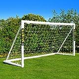 FORZA Fußballtore mit einem Klicksystem – das Tor kann das ganze Jahr über bei jedem Wetter...