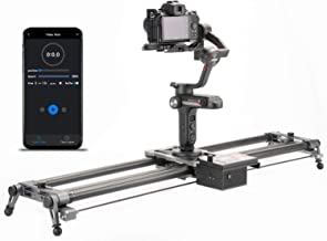 YC Onion Motorized Camera Slider 100cm / 39'Camera Rail with APP Control Carbon Fiber, 3-4 or 5 Axis Video Slider Dolly Track Motion Rail Compatible with DJI and Zhiyun Stabilizer