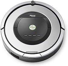 iRobot Roomba 886 Vacuuming Robot, Silver & Black - R886040