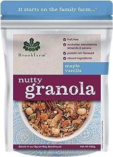 brookfarm Maple Vanilla Nutty Granola, 450 g