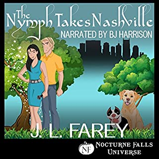 The Nymph Takes Nashville audiobook cover art