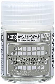Gundam Mr. Crystal Color 08 - Moonstone pearl 18ml. Bottle Hobby