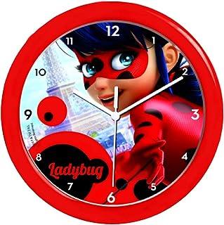 子供の壁時計、奇跡的なレディバグウォールクロック、公認ライセンス