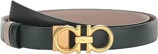 Salvatore Ferragamo Women's New Gancini Adjustable/Reversible Belt