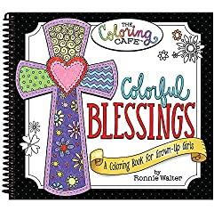 Colorful Blessings Coloring Book
