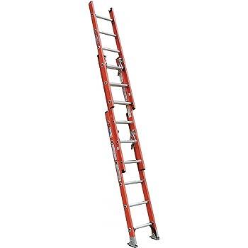 Werner Ladder D6216-3 16' D-Rung Extension Ladder, 300 lbs