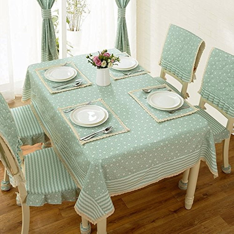 WFLJL einfachen Stil TableclothCoffee tisch Esstisch Baumwolle Rechteck Abdeckung Tuch 140  140 cm B075WY83MW Schöne Kunst  | Bekannt für seine schöne Qualität