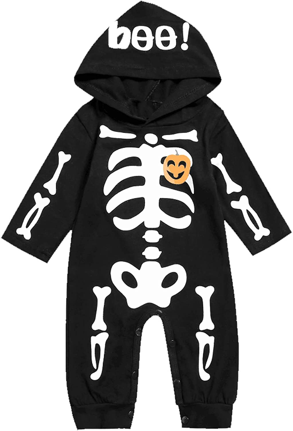 Singcoco Baby Boy Girl 55% OFF Halloween Skeleton Sale price Costume Outfit Newborn