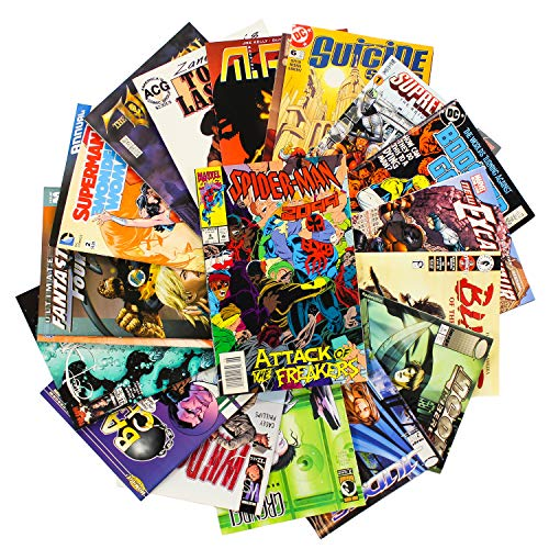 Comic Book Collection Gift Pack | Marvel, DC & Indy Comic...
