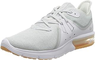 Nike WMNS AIR MAX Sequent 3, Women's Training Shoes, White (White/Pure Platinum 101), 6.5 UK (40.5 EU)