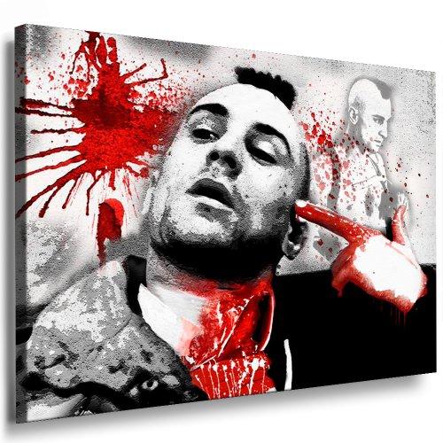 Impresión sobre lienzo Taxi Driver - Robert De Niro imagen 100 x 70 cm k, Póster! Imagen globo! Pop Art fotografía de imágenes, Kunstdrucke y cuadros/fotos para la decoración - decoración