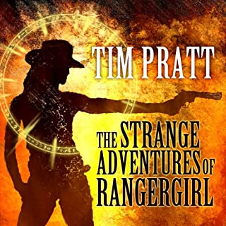 The Strange Adventures of Rangergirl audiobook cover art