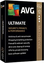$59 » AVG Technologies AVG Ultimate 2020, 3 Devices 2 Year 2020