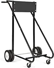 Goplus Superbuy 310 LBS Outboard Boat Motor Stand Carrier Cart Dolly Storage Pro Heavy Duty