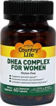 Country Life Vitamins DHEA Complex for Women, 60 VCAP