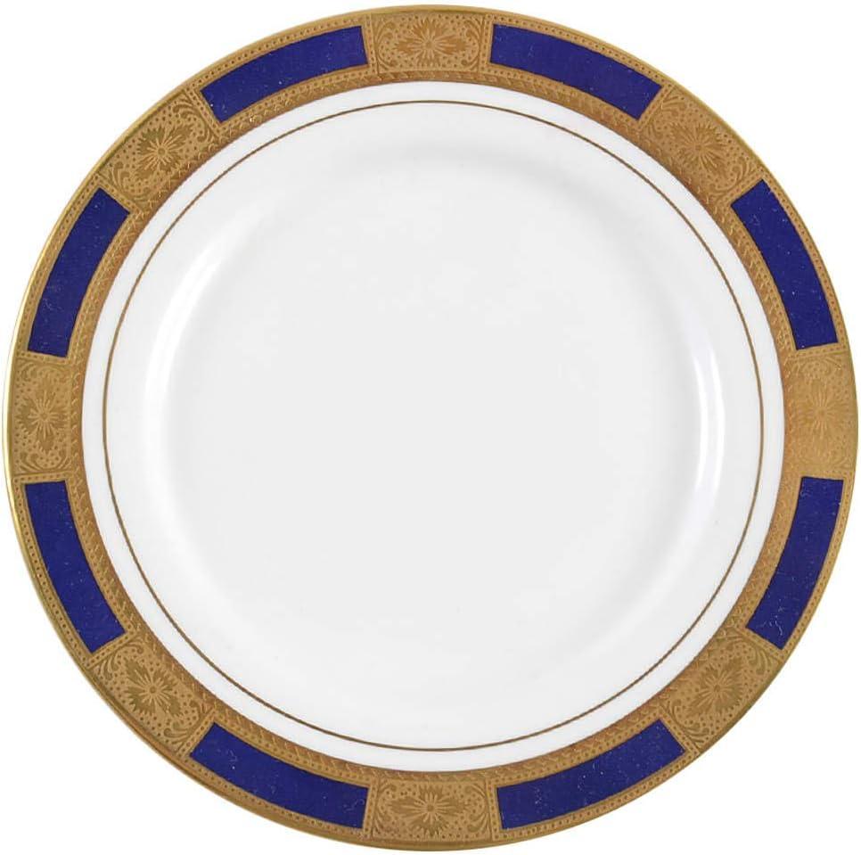 Aynsley John Empress Cobalt Plate Direct sale of manufacturer Sale Special Price Bread Butter
