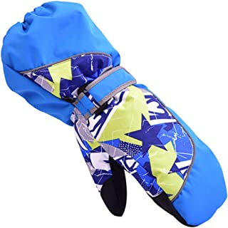 BeBeFun Kids and Youth Ski Snowboarding Winter Youth Mittens Gloves for Boys and Girls
