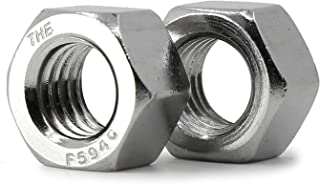 18-8 20 pcs Hex Coupling Nuts 1//4-20 AISI 304 Stainless Steel