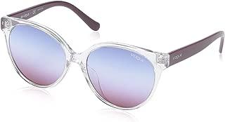 VOGUE Women's 0vo5246sf Round Sunglasses transparent 54.0 mm
