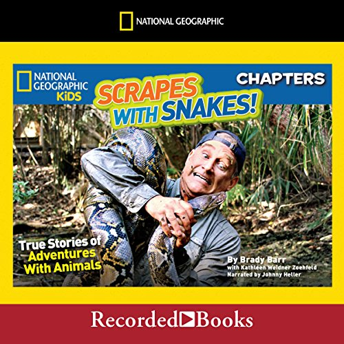National Geographic Kids Chapters: Scrapes with Snakes audiobook cover art