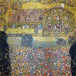 Posterazzi Country house on Attersee Lake Poster Print by Gustav Klimt (24 x 24)