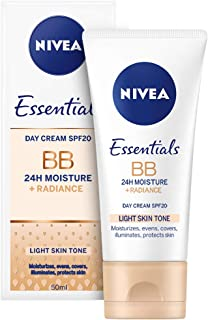NIVEA, Face, BB Cream, 24H Moisture + Radiance, SPF20, 50ml
