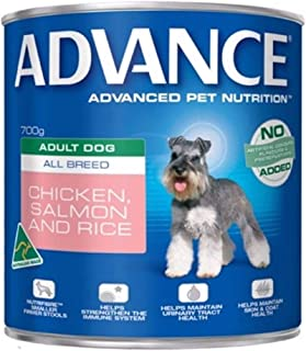 Advance Adult and Senior Chicken & Salmon 700g Dog Wet Food