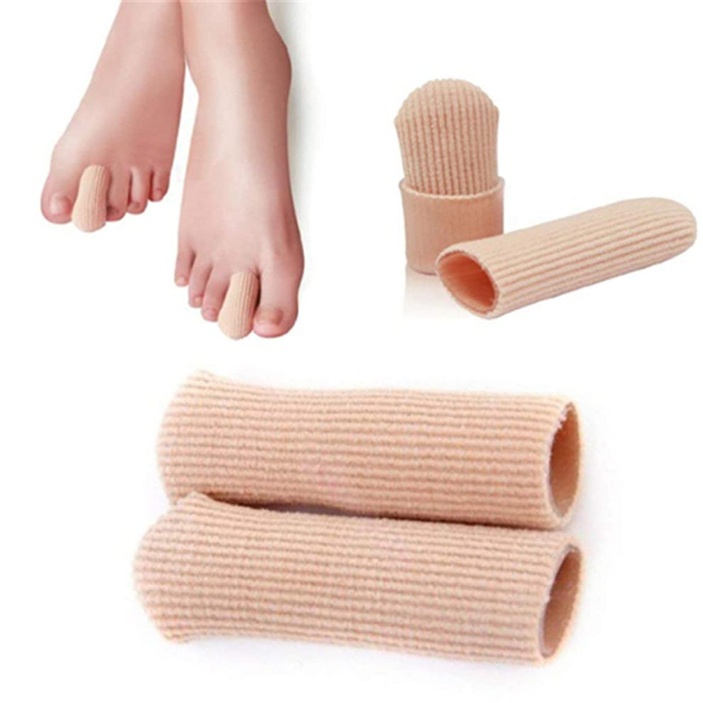 B-035 SEBS Toe Tube Toe Caps Toe Cushions Foot Corns Remover Finger Toe Protect Body Massager Insoles Health Care