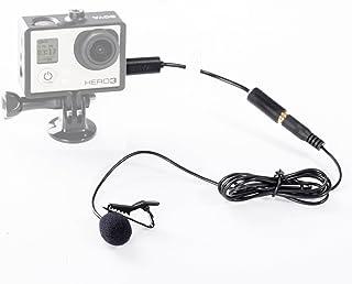 Boya Mini Externa USB de 35mm Micrófono con Clip para GoPro Hero 33+ y Otros cámara