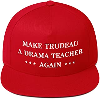 Make Trudeau A Drama Teacher Again Hat Snapback Cap Red