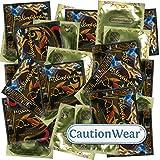 CautionWear Dark Desire - 50 Kondome für den perfekten Sitz