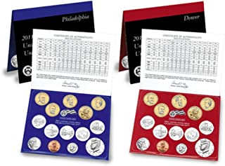 2011 P&D United States Mint Uncirculated Coin Set in Original Government Packaging Brilliant Uncirculated