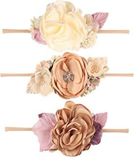 newborn flower headbands