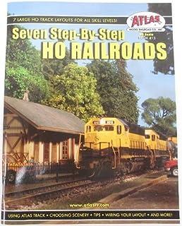 Atlas Model 13 Seven Step-by-Step HO Railroads