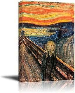wall26 - The Scream by Edvard Munch - Canvas Art Wall Decor - 18