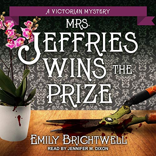 Mrs. Jeffries Wins the Prize  By  cover art