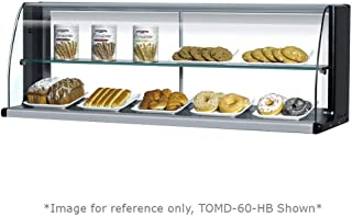 APW Wyott Racer Slanted Countertop Double Shelf Display Merchandiser 33 x 36 x 27 inch 1 each.