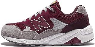 New Balance Herren Schuhe MRT580LH Rot/Weiß/Beige Lifestyle Sneaker im Retro-Laufschuh-Design