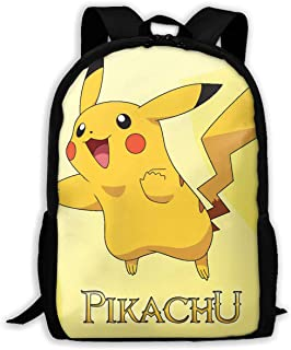 Custom Funny Pikachu Casual Backpack School Bag Travel Daypack Gift