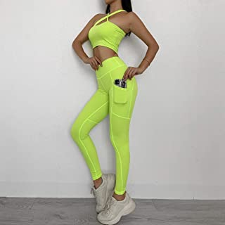 Sportswear Sports Suits Seamless Yoga Set Women Fitness Clothing Sportswear Woman Gym Leggings Padded Push-up Sports Bra (...