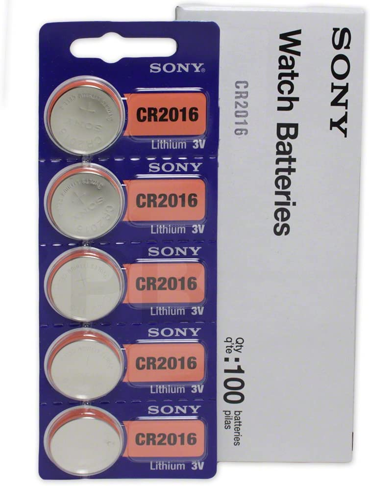 Sony CR2016 3 Max 50% OFF Volt Lithium Genuine Manganese Dioxide OFFicial mail order Batteries