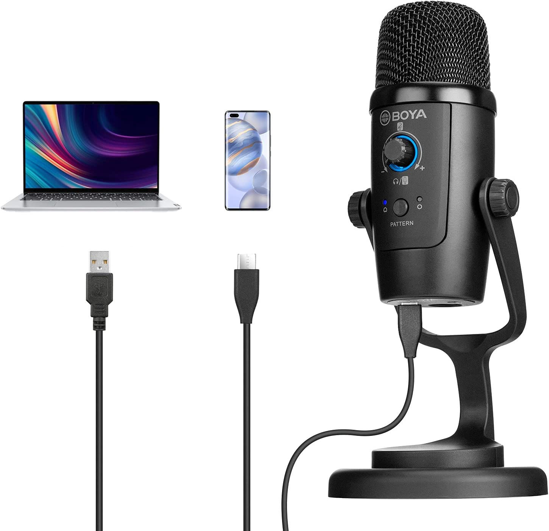 USB Computer Microphone Studio BOYA Desktop Condenser BY-PM500 New York Mall Popular products