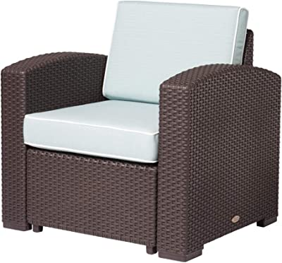 Amazon.com : Keter California 3-Seater Seating Patio Sofa ...