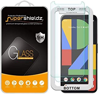 for Google Pixel 4 XL, Tempered Glass Screen Protector (2 PACKS) with (Easy Installation Tray) Anti Scratch, Bubble FREE, ...