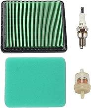 Harbot GCV160 17211-ZL8-023 Air Filter with Fuel Filter Spark Plug for Honda GC135 GC160 GC190 GCV135 GCV190 GX100 Engine