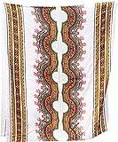 Raan Pah Muang Dünner heller afrikanischer Dashiki Rayon