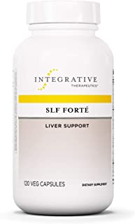 Integrative Therapeutics - SLF Forte - Liver Support - Milk Thistle, Vitamins, and Antioxidants for Liver/Gallbladder Support - 120 Capsules