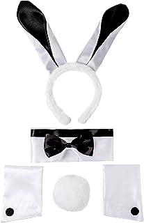 Spooktacular Creations 5 Pcs Bunny Costume Set Including...