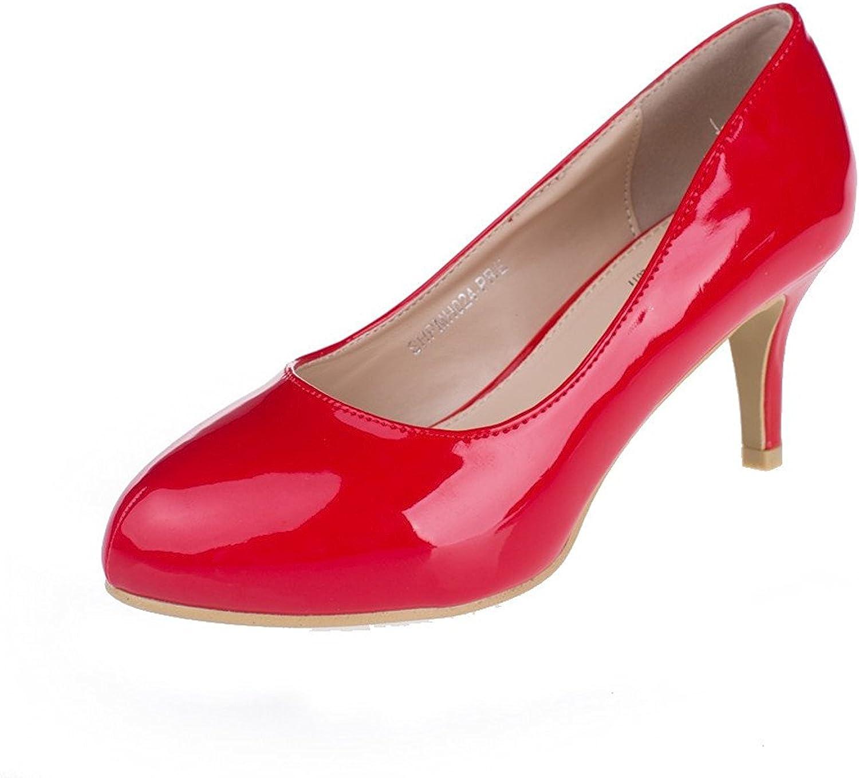 SheSole Women's Pumps shoes (Half Size Larger)